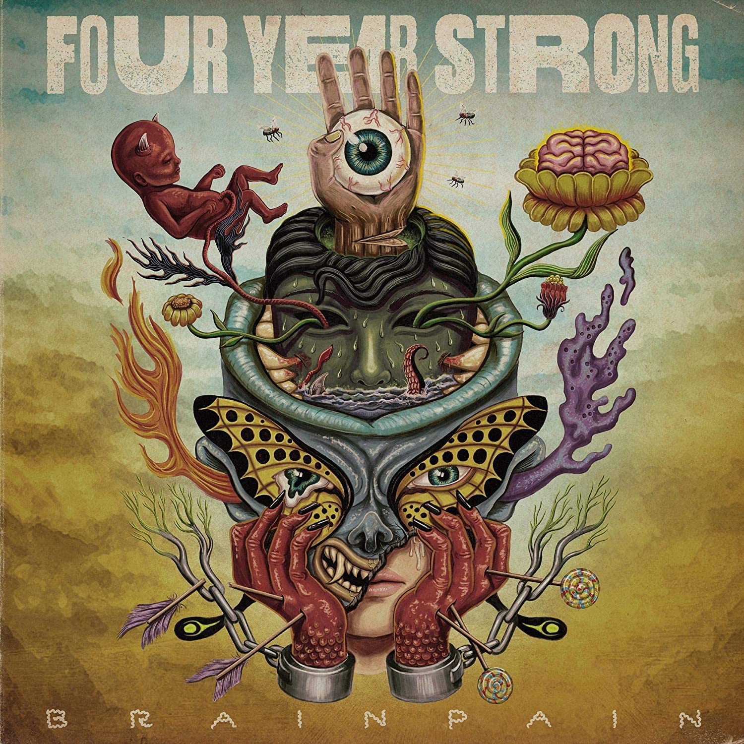 Brain Pain by Four Years Strong