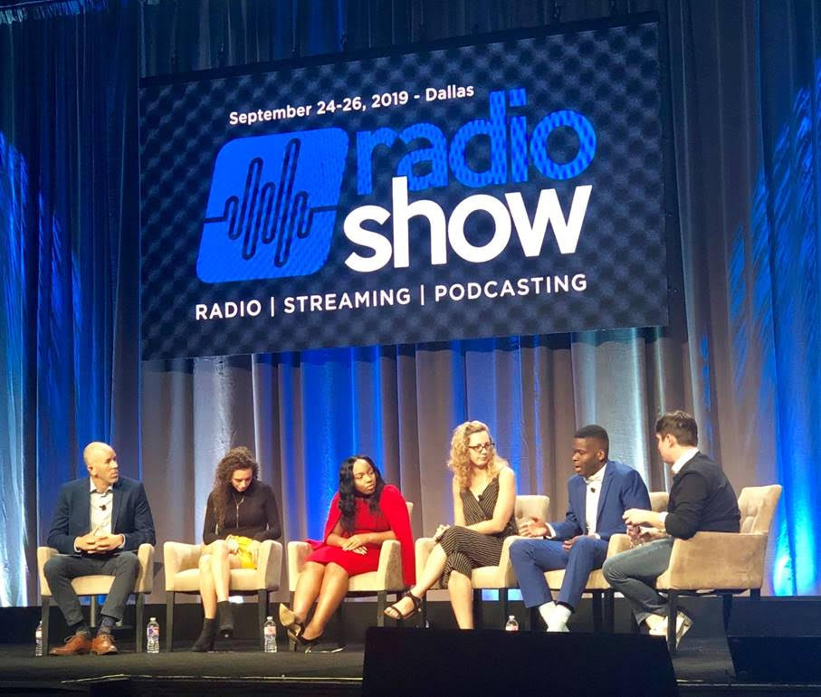 The Gen Z Panel at the radio show in Dallas