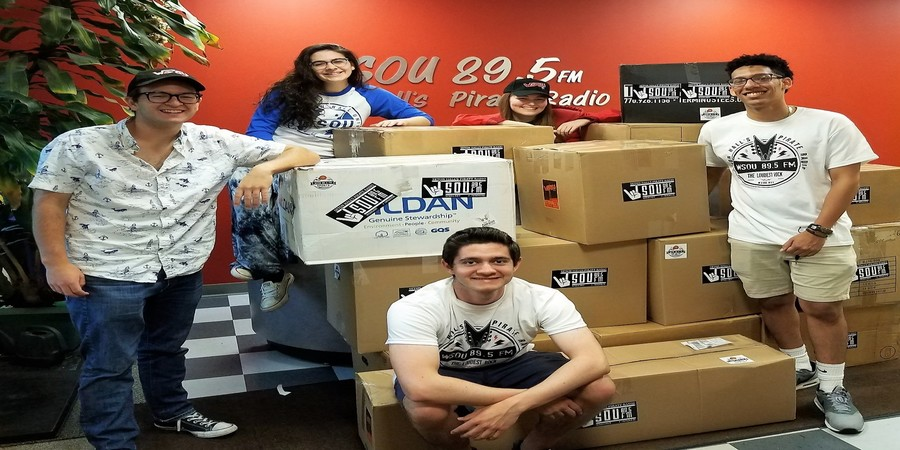 WSOU Members at the 2019 Clothing Drive